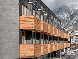hotel architektur die berge