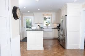Modern Galley Kitchen Design Kitchen Minimalist Maple Cabinet Corridor Style Kitchen Design