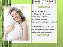 Hotel Comfort Memory Foam Pillow Hotel Comfort Youtube