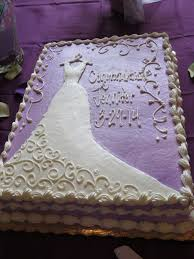 purple bridal shower cake wedding cakes pinterest bridal