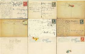 two free vintage postcards large background images the