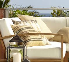 Patio Furniture Cushions Sale Madera Teak Outdoor Furniture Cushions Pottery Barn