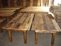 Farm Table With Bench And Chairs Rentals Atlas Wood Products 215 725 5384