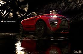 range rover modified red alber silva range rover evoque modified