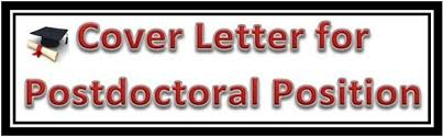 writing cover letter for a postdoctoral position hubpages