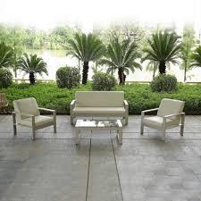 New Outdoor Cast Aluminum Patio Furniture Sofa Set New Designs - Patio furniture sofa sets