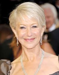 go for platinum blonde color hairstyles for women over 50 grey