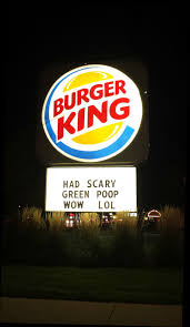 burger king halloween bk turns your green