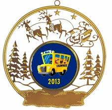 see lots of ornaments and decor for school drivers