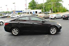 2012 hyundai sonata black sedan sale