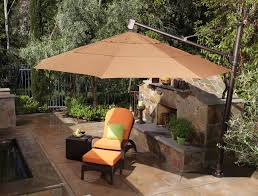 furniture costco cantilever umbrella for most dramatic shade