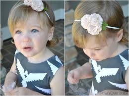 fawn headband fawn baby bare blooms hair accessories for your