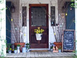 striking spring porches doors and entryways burger