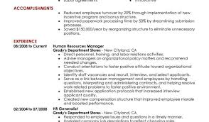 Resume Sle For In The Same Company Human Resource Resume Objective Hr Practitioner Sle Resume