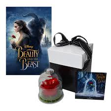 beauty and the beast movie gift set enchanted rose u0026 beauty and