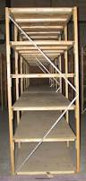 Wood Shelving Units by 3 Sections Of Wood Shelving Units Item 2340 Sold Sept