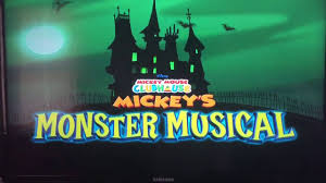 halloween specials mickey u0027s monster musical youtube