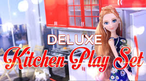modern kitchen toy unbox daily deluxe kitchen play set sweet home u0026 living