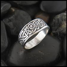 celtic rings of my heart celtic heart knot ring in sterling silver