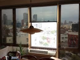Solar Powered Window Blinds Transparent Film Shades Uv Blocking Mylar And Glare Reducing