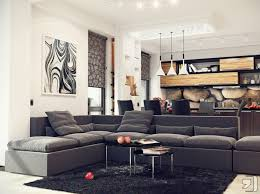 Kitchen Corner Rugs Home Accessories Stunning Corner Living Room Design With Grey