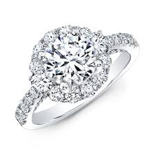 large engagement rings white gold large diamond halo engagement ring