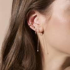 ear piercing earrings ear piercing earrings and strand