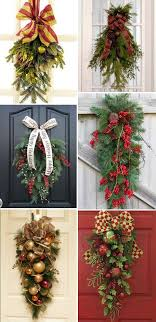 christmas swags for outdoor lights 2034 best deco mesh and wreath inspiration images on pinterest