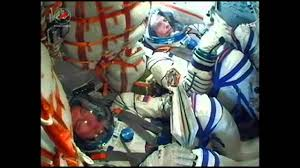 iss expedition 45 soyuz tm 18m launch youtube