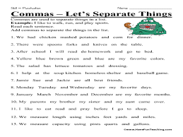 Adverb Worksheets 2nd Grade 100 Commas Worksheet Best 20 Language Arts Worksheets Ideas