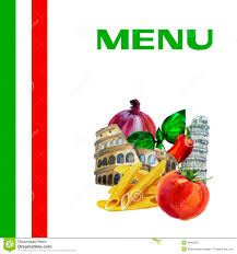 italian cuisine menu design background stock vector image 46463037