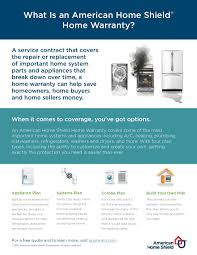 home buyers protection plan what is an american home shield home warranty