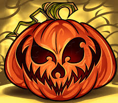 drawn pumpkin jack fruit pencil and in color drawn pumpkin jack