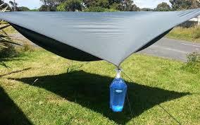 set up rainfly u2013 hennessy hammock