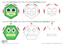 free worksheets preschool triangle worksheets free math