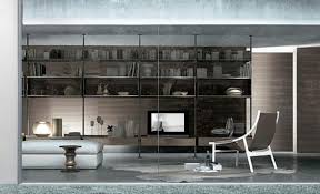 Cool Wall Designs by Decorations Elegant Living Room Bookshelf With White Wooden Cool
