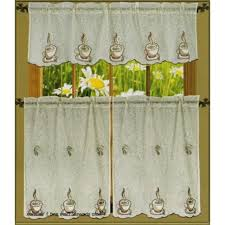 coffee themed kitchen curtains towels coffee themed kitchen