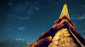 timelapse view of eiffel tower in paris paris june 24