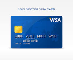 free debit card free vector visa credit card graphberry