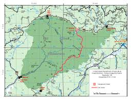 Desolation Wilderness Map Central Or Fire Info Temporary Trail And Campground Closure For