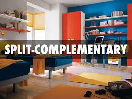 split complementary color schemes home design in split
