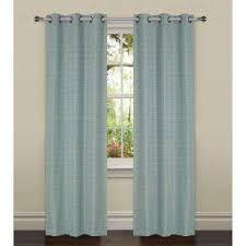 Linen Curtains With Grommets Bella Luna Curtains U0026 Drapes Window Treatments The Home Depot