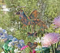 Sheet Metal Garden Art - beagle garden stake yard art garden art pet memorial dog