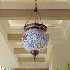 Wrought Iron Mini Pendant Lights Vintage Stained Glass And Wrought Iron Small Pendant Lights
