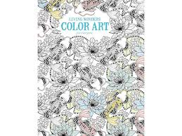 leisure arts color art living wonders coloring bk walmart com