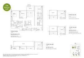 floor plan key santorini tampines condominium floor plans