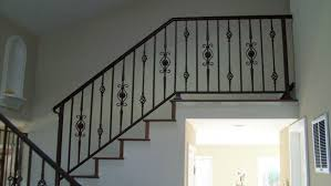 exterior wrought iron railing cost steel handrail best railings