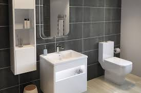 The Range Bathroom Mirrors by Rak Reflects Slick Contemporary Look With Mirror And Cabinet Range