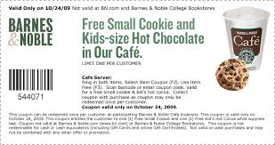 Barnes And Noble Redeem Barnes And Noble Free Cookie And Small Chocolate On 10 24