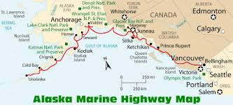map of alaska cities how to get to alaska information and maps
